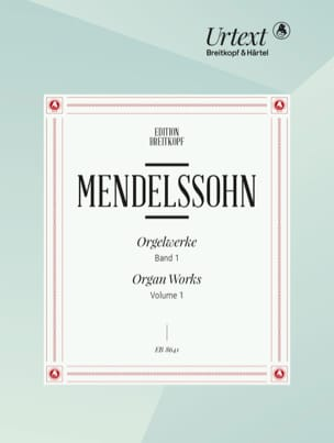 MENDELSSOHN - 3 Preludes and Fugues Opus 37/6 Opus 65 Sonatas - Sheet Music - di-arezzo.co.uk