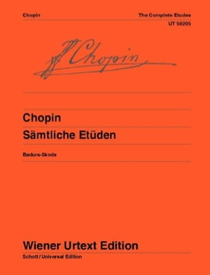 CHOPIN - Opus Studies 10 and 25 and 3 New Studies - Sheet Music - di-arezzo.co.uk