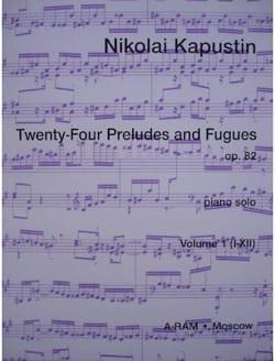 24 Préludes et Fugues Op. 82 Volume 1 - laflutedepan.com
