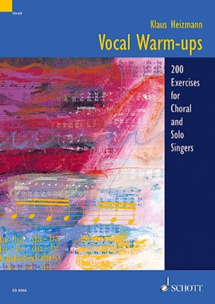 Vocal Warms-Ups Klaus Heizmann Livre laflutedepan