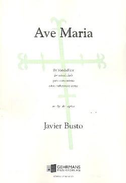 Javier Busto - Ave Maria - Sheet Music - di-arezzo.com