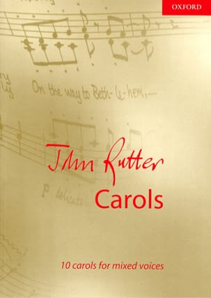 10 Carols RUTTER Partition Chœur - laflutedepan