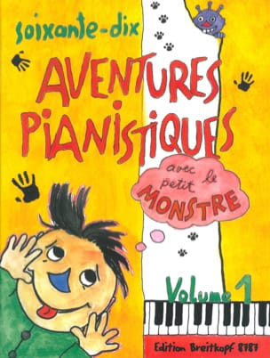 - 70 Piano Adventures Volume 1 - Sheet Music - di-arezzo.com