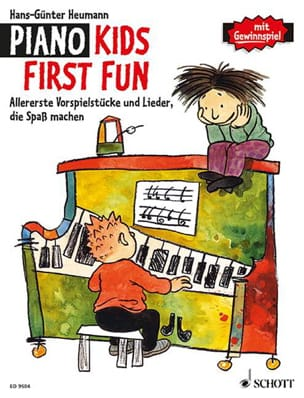Piano Kid First Fun Hans-Günter Heumann Partition Piano - laflutedepan