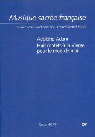 Adolphe Adam - 8 motets to the Virgin for the month of May - Sheet Music - di-arezzo.com