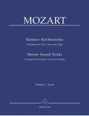 MOZART - Kleinere Kirchenwerke - Sheet Music - di-arezzo.co.uk