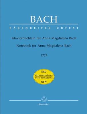 BACH - Klavierbüchlein por Anna Magdalena Bach - Partitura - di-arezzo.es