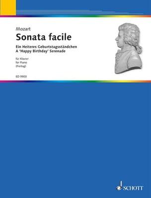 Sonate Facile K 545 - MOZART - Partition - Piano - laflutedepan.com
