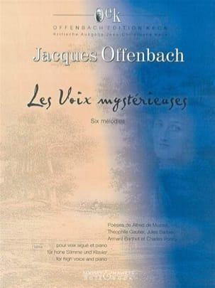Jacques Offenbach - The Mysterious Voices. - Sheet Music - di-arezzo.co.uk