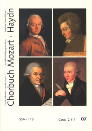 MOZART / HAYDN - Chorbuch Volume 1. Equal Voice - Sheet Music - di-arezzo.com