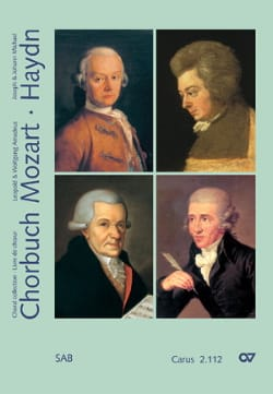 MOZART / HAYDN - Chorbuch Volume 2. Mixed Choir - Sheet Music - di-arezzo.co.uk