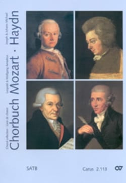 MOZART / HAYDN - Chorbuch Volume 3. 4 Mixed Voices - Sheet Music - di-arezzo.co.uk