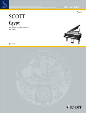 Egypt Cyril Scott Partition Piano - laflutedepan