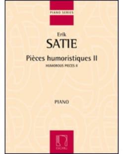 Pièces Humoristiques Volume 2 SATIE Partition Piano - laflutedepan