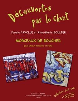 Morceaux de Boucher - Coralie Fayolle - Partition - laflutedepan.com