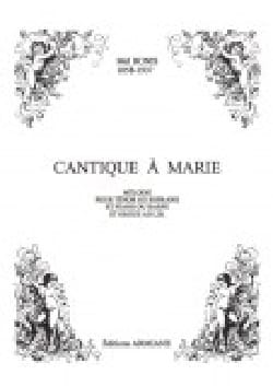 Mel Bonis - Canticle to Mary Op. 122 - Sheet Music - di-arezzo.co.uk