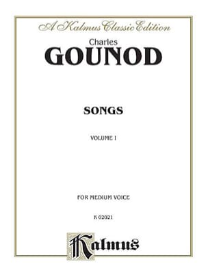 Songs Volume 1. Voix Moyenne GOUNOD Partition Mélodies - laflutedepan