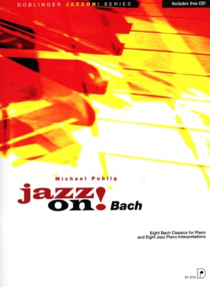 Jazz On Bach - Michael Publig - Partition - Piano - laflutedepan.com