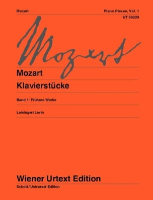 MOZART - Klavierstücke Volume 1 - Sheet Music - di-arezzo.co.uk