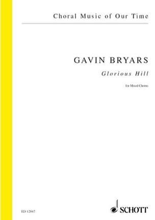 Gavin Bryars - Glorious Hill - Partition - di-arezzo.fr