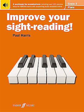 Paul Harris - Improve Your Sight-Reading Grade 3 - Partition - di-arezzo.fr