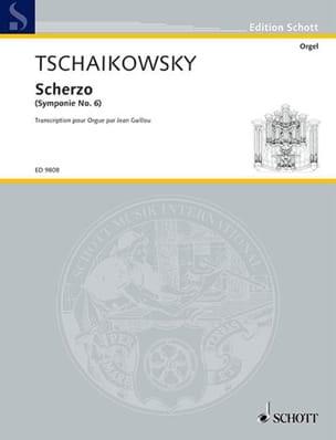 Scherzo TCHAIKOVSKY Partition Orgue - laflutedepan