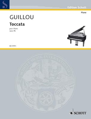 Jean Guillou - Toccata Op. 9b - Sheet Music - di-arezzo.co.uk