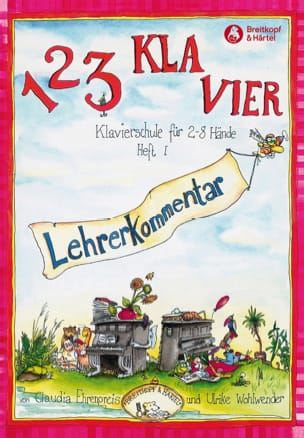 Ehrenpreis - 1.2.3 Klavier Vol 1. Leherekommantar - Sheet Music - di-arezzo.co.uk
