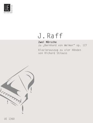 Joachim Raff - 2 Märsche Op. 127. 4 Mains - Partition - di-arezzo.fr