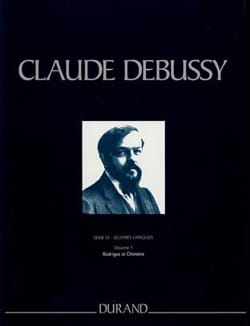 DEBUSSY - Rodrigue and Chimène. Series 6 Volume 1 - Sheet Music - di-arezzo.com