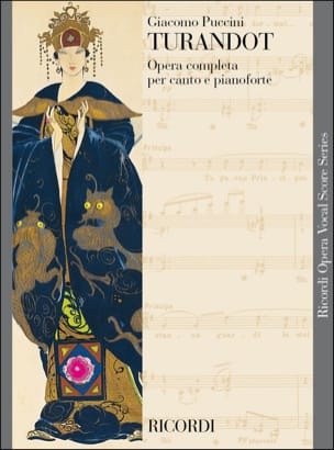Giacomo Puccini - Turandot. New edition - Sheet Music - di-arezzo.co.uk