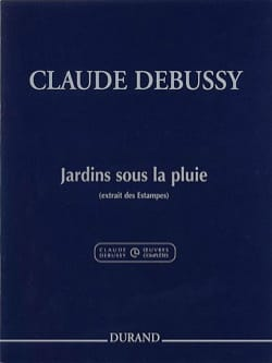 DEBUSSY - Gardens under the rain - Sheet Music - di-arezzo.co.uk