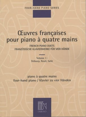- French Works For Piano 4 Hands Volume 1 - Sheet Music - di-arezzo.com