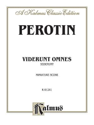 Perotin - Viderunt Omnes / Sederunt Principles - Sheet Music - di-arezzo.co.uk