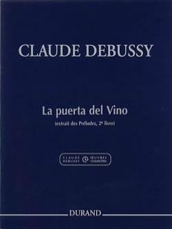 DEBUSSY - プエルタデルビノ - 楽譜 - di-arezzo.jp