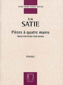 Pièces A 4 Mains SATIE Partition Piano - laflutedepan