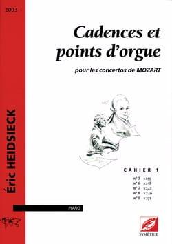 Cadences et Points D'orgue Pour les Concertos de Mozart Vol 1 laflutedepan