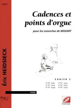 Cadences et Points D'orgue Pour les Concertos de Mozart Vol 2 laflutedepan