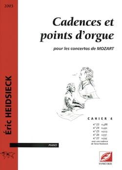 Cadences et Points D'orgue Pour les Concertos de Mozart Vol 4 laflutedepan