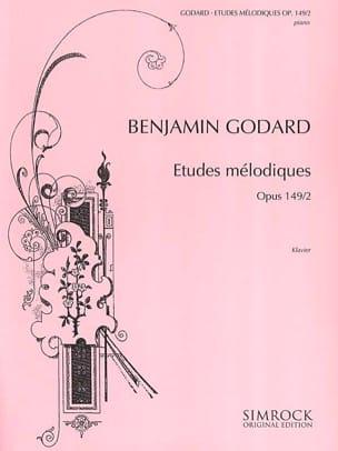 Etudes Mélodiques Op. 149 Vol 2 - Benjamin Godard - laflutedepan.com