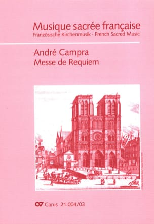 André Campra - requiem - Partitura - di-arezzo.it