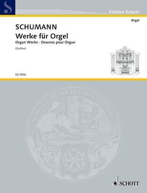 SCHUMANN - Werke Für Orgel - Partitura - di-arezzo.es