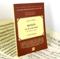 André Campra - Motets A 1, 2 and 3 Voice Book 1 - Sheet Music - di-arezzo.com