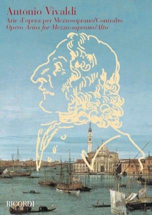 VIVALDI - Arie from Opera Per Mezzosoprano / Contralto - Partition - di-arezzo.co.uk