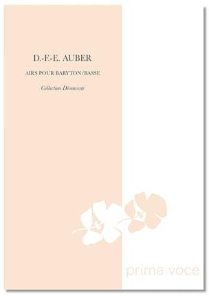 Daniel Auber - Airs Pour Baryton-Basse - Partition - di-arezzo.fr