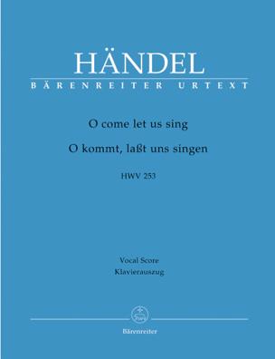 O Come Let Us Sing. HWV 253 - laflutedepan.com