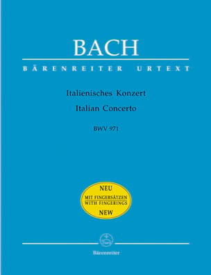 BACH - Italianisches Konzert BWV 971 - Partitura - di-arezzo.it