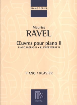 Maurice Ravel - Piano Works Volume 2 - Sheet Music - di-arezzo.com
