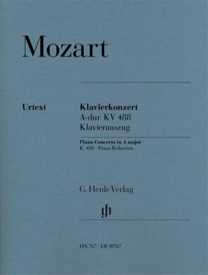 MOZART - Piano Concerto No. 23 In the Major KV 488 - Sheet Music - di-arezzo.co.uk