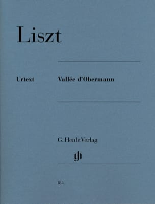 Vallée d' Obermann LISZT Partition Piano - laflutedepan